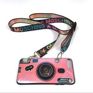 iPhone 7 Plus Crossbody Strap Camera Phone Case